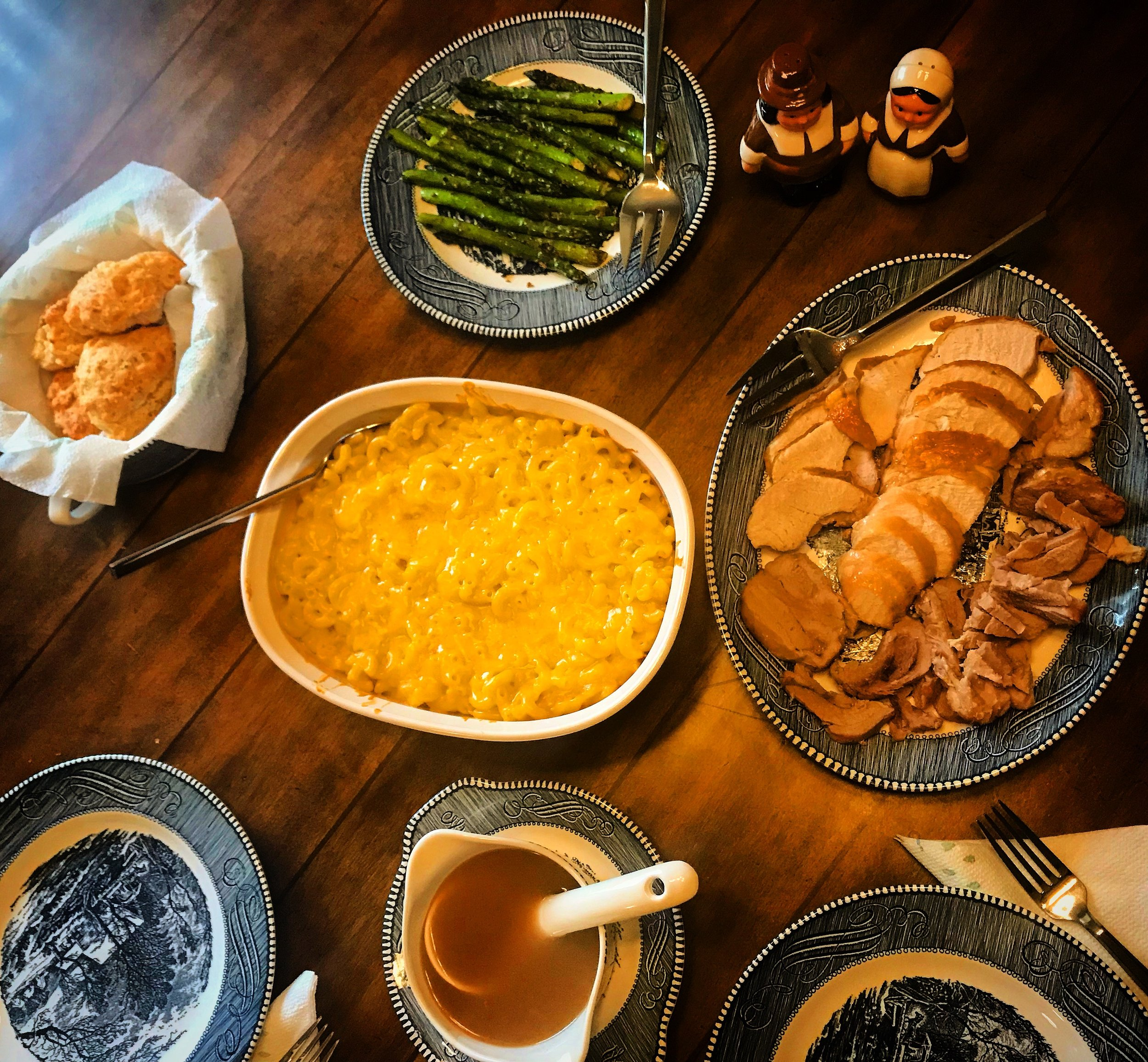 I cooked my first Thanksgiving dinner, which I really enjoyed (cooking AND eating).