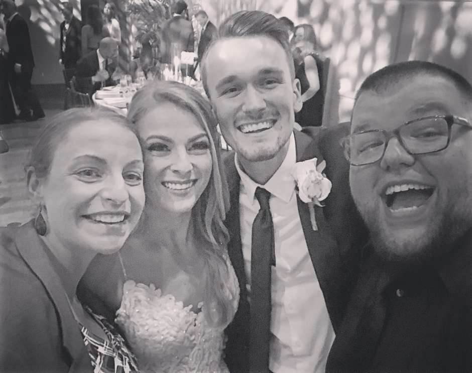 We got to be a part of Johnny and Gabby Jones' wedding in Ft. Lauderdale.