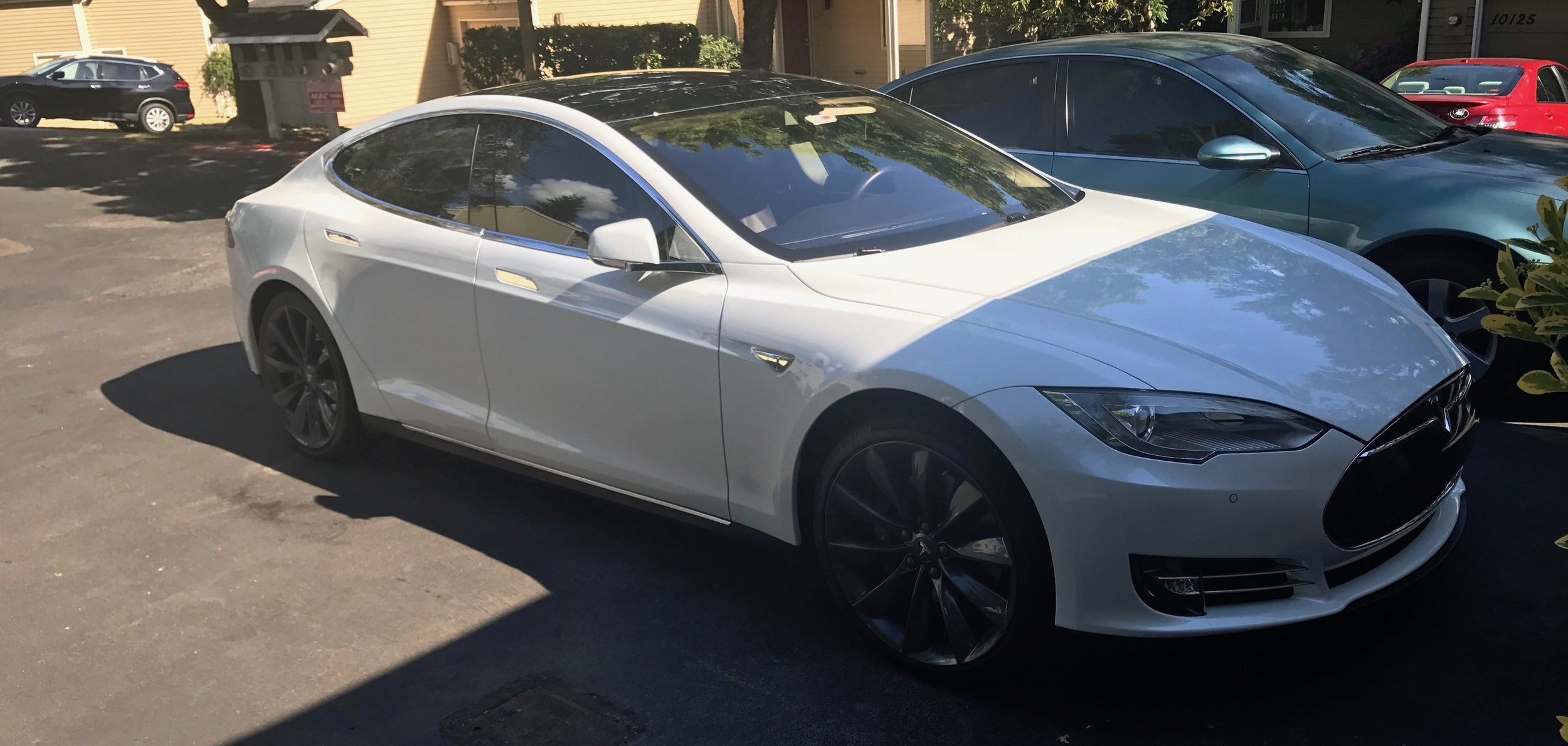 I drove a Tesla for the first time ever; so owning one is now on my bucket list.